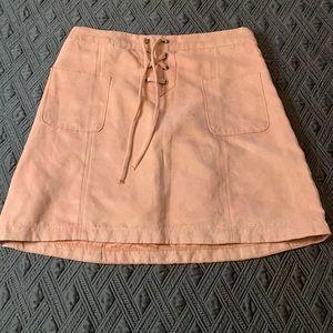 Hollister suede skirt